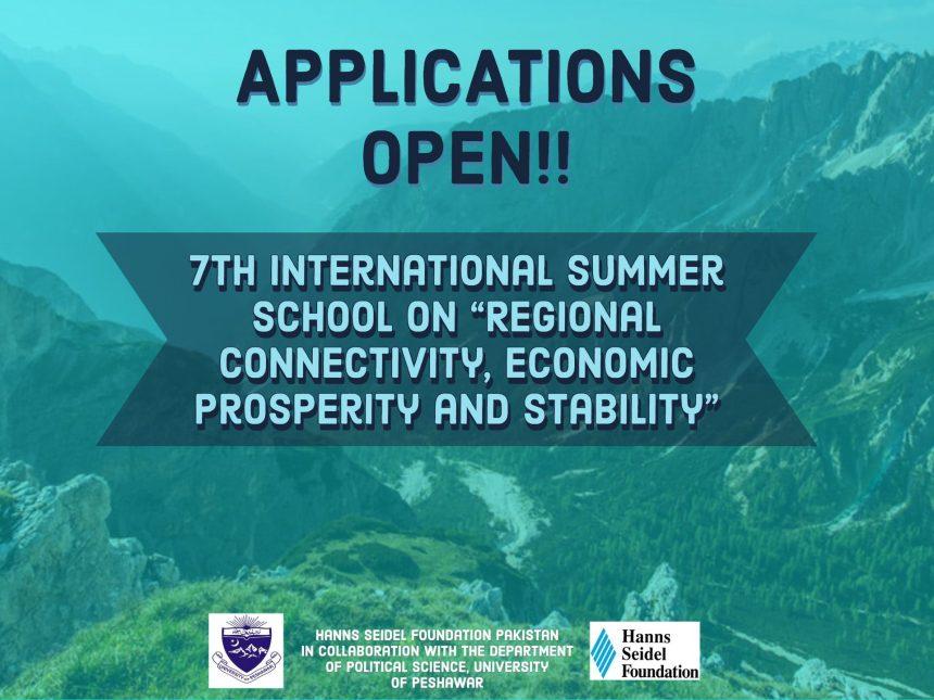 "7th International Summer School on ""Regional Connectivity, Economic prosperity and Stability"""